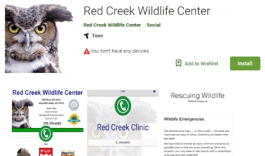NEW Interactive Wildlife Emergency App